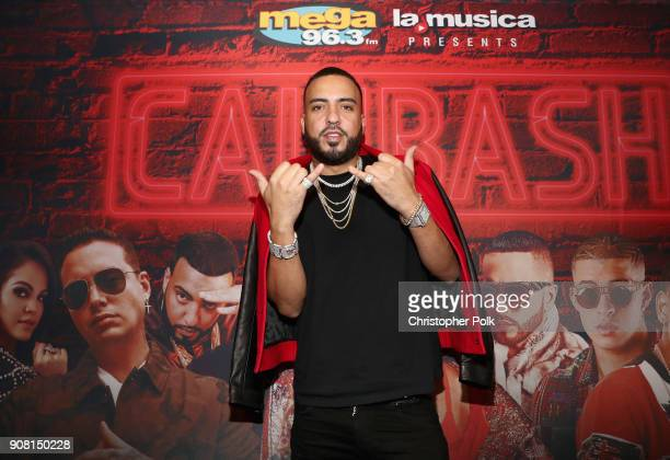 French Montana attends Calibash Los Angeles 2018 at Staples Center on January 20 2018 in Los Angeles California