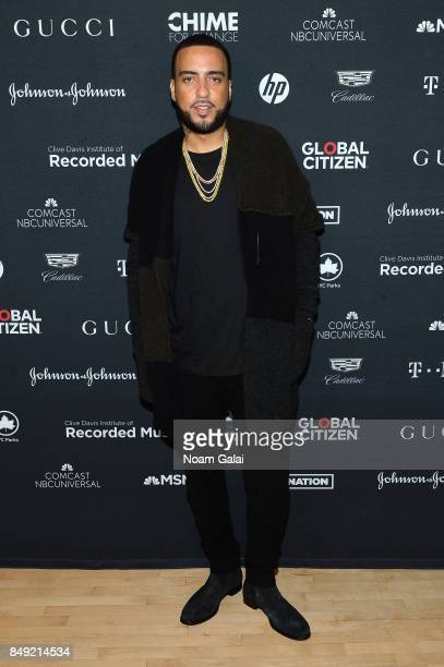 French Montana attends Global Citizen Live at NYU Skirball Center on September 18 2017 in New York City
