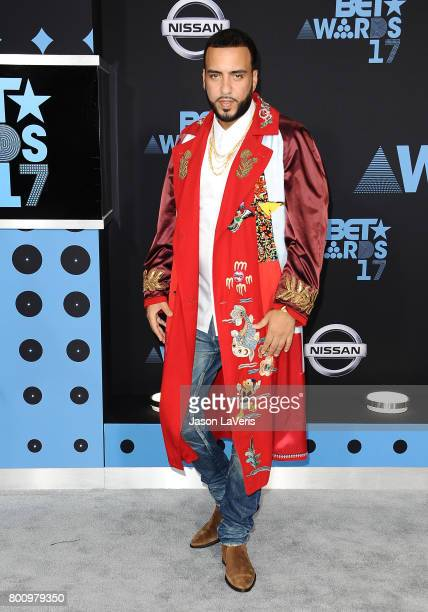 French Montana attends the 2017 BET Awards at Microsoft Theater on June 25 2017 in Los Angeles California
