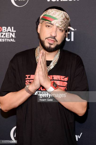 French Montana attends the 2019 Global Citizen Festival: Power The Movement in Central Park on September 28, 2019 in New York City.