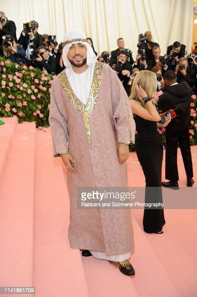 French Montana attends The 2019 Met Gala Celebrating Camp Notes On Fashion Arrivalsat The Metropolitan Museum of Art on May 6 2019 in New York City