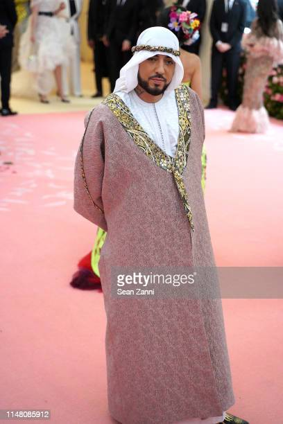 French Montana attends The Metropolitan Museum Of Art's 2019 Costume Institute Benefit Camp Notes On Fashion at Metropolitan Museum of Art on May 6...