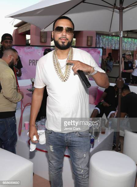 French Montana attends the PrettyLittleThing x Paper Magazine The Pretty Little Playground on April 14 2017 in Palm Springs California
