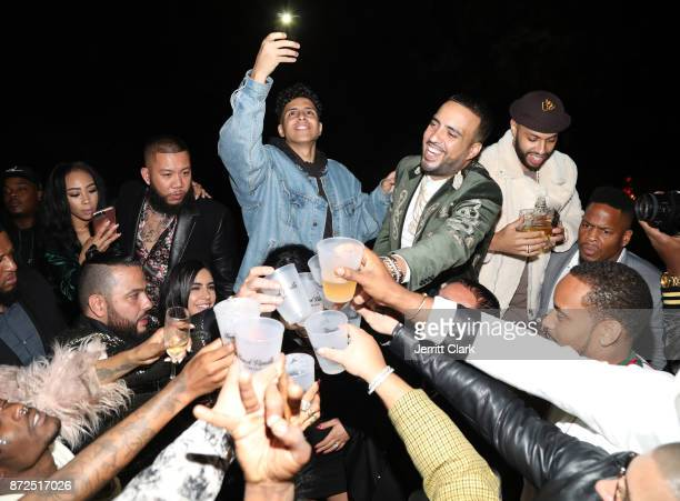 French Montana celebrates his birthday with CIROC French Vanilla on November 9 2017 in Beverly Hills California