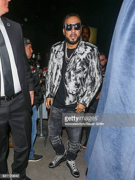French Montana is seen on January 06 2017 in Los Angeles California