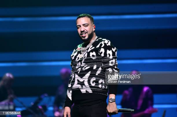 French Montana performs during the TIDAL's 5th Annual TIDAL X Benefit Concert TIDAL X Rock The Vote At Barclays Center Show at Barclays Center of...