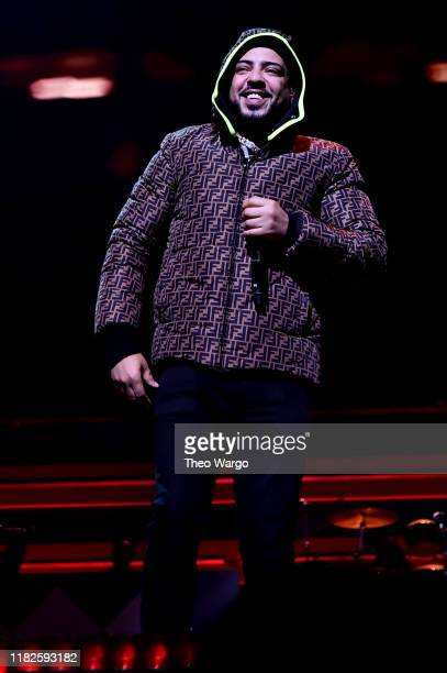 French Montana performs during the TIDAL's 5th Annual TIDAL X Benefit Concert TIDAL X Rock The Vote At Barclays Center - Show at Barclays Center of...