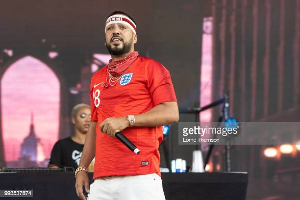 French Montana performs during Wireless Festival 2018 at Finsbury Park on July 7th 2018 in London England