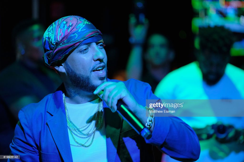 """Samsung's Made for Summer Series Celebrates French Montana's New """"Jungle Rules"""" Album During Live at 837 : News Photo"""
