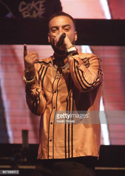 French Montana performs for the 2018 iHeartRadio FanFest during 2018 Canadian Music Week on May 11 2018 in Toronto Canada