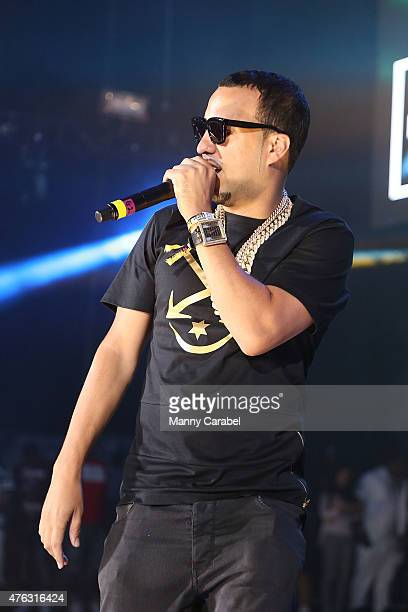 French Montana performs in concert at the 2015 Hot 97 Summer Jam concert at MetLife Stadium on June 7 2015 in East Rutherford New Jersey