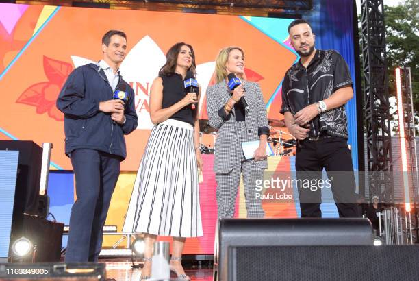 French Montana performs live from Central Park on Good Morning America Friday August 23 airing on the Walt Disney Television Network GMA19 ROB