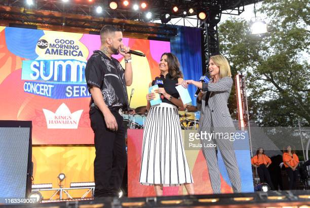 French Montana performs live from Central Park on Good Morning America Friday August 23 airing on the Walt Disney Television Network GMA19 FRENCH