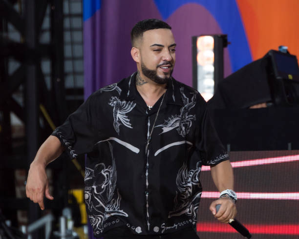 """NY: French Montana Performs On ABC's """"Good Morning America"""""""