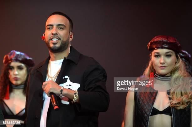 French Montana performs on stage during the MTV EMAs 2017 held at The SSE Arena Wembley on November 12 2017 in London England