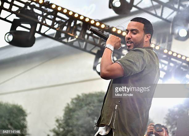 French Montana performs onstage at EpicFest 2016 hosted by LA Reid and Epic Records at Sony Studios on June 25 2016 in Los Angeles California
