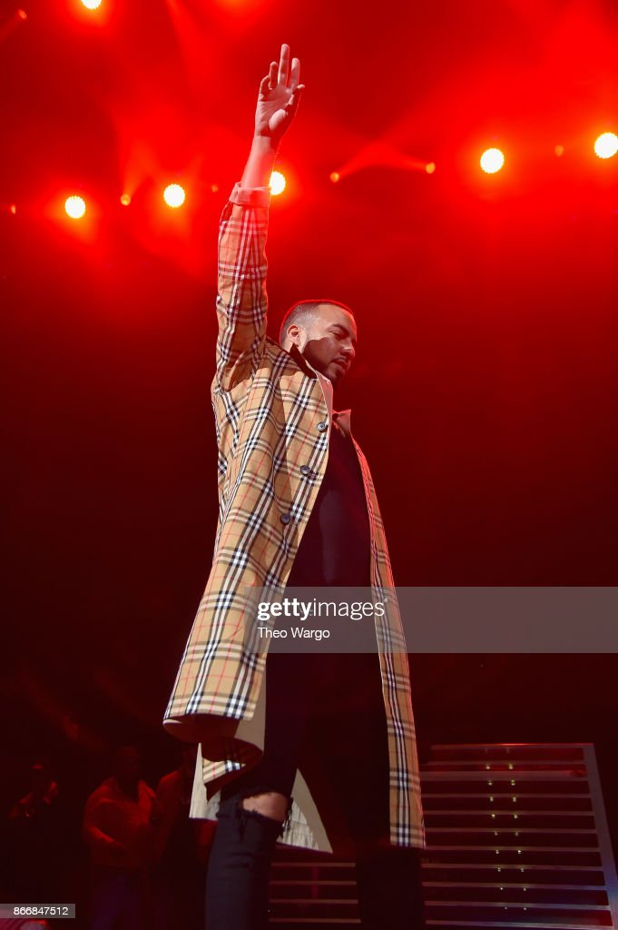 French Montana performs onstage during 105.1's Powerhouse 2017 at the Barclays Center on October 26, 2017 in the Brooklyn, New York City City.