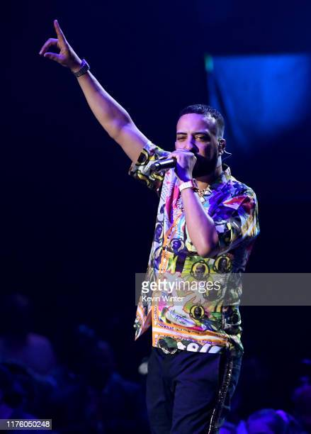 French Montana performs onstage during the 2019 iHeartRadio Music Festival at T-Mobile Arena on September 20, 2019 in Las Vegas, Nevada.