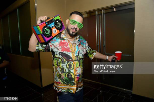 French Montana performs onstage during the 2019 iHeartRadio Music Festival at TMobile Arena on September 20 2019 in Las Vegas Nevada
