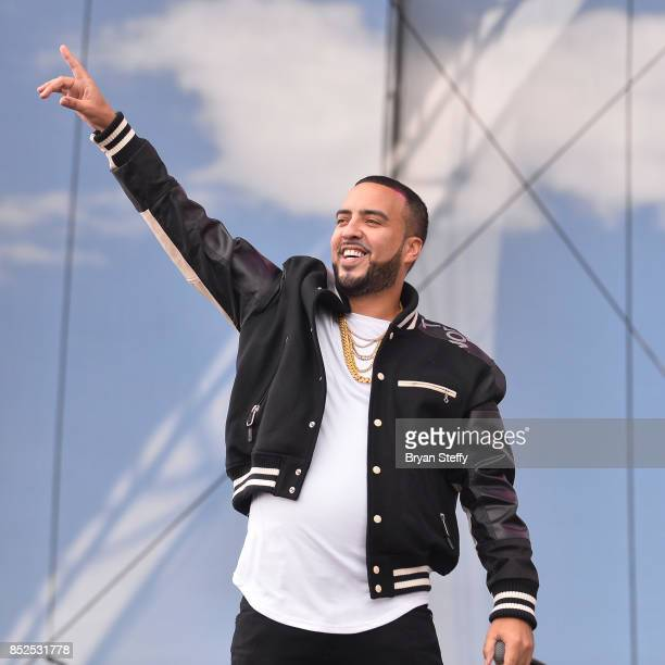 French Montana performs onstage during the Daytime Village Presented by Capital One at the 2017 HeartRadio Music Festival at the Las Vegas Village on...