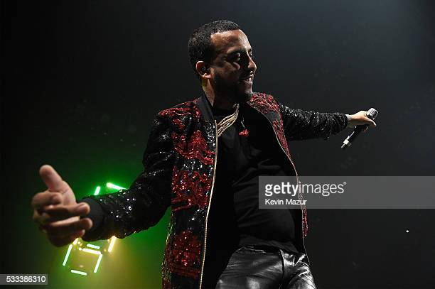 French Montana performs onstage during the Puff Daddy and The Family Bad Boy Reunion Tour presented by Ciroc Vodka and Live Nation at Barclays Center...