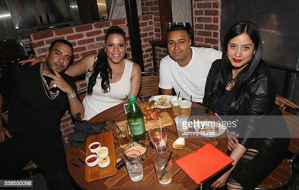 French Montana TT Torez DJ Camilo and Laura Stylez attend Haute Living Celebrates DJ Khaled And Nicole Khaled Presented By JetSmarter on June 6 2016...