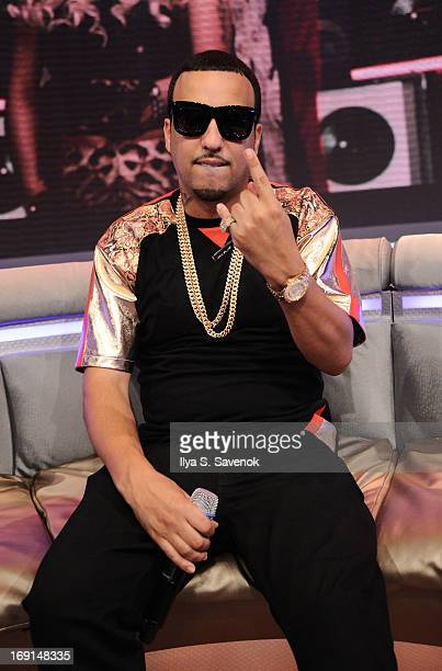 French Montana visits BET's '106 Park' at BET Studios on May 20 2013 in New York City
