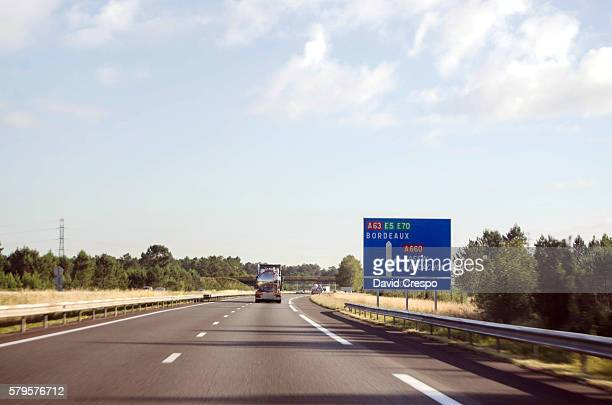 French motorway