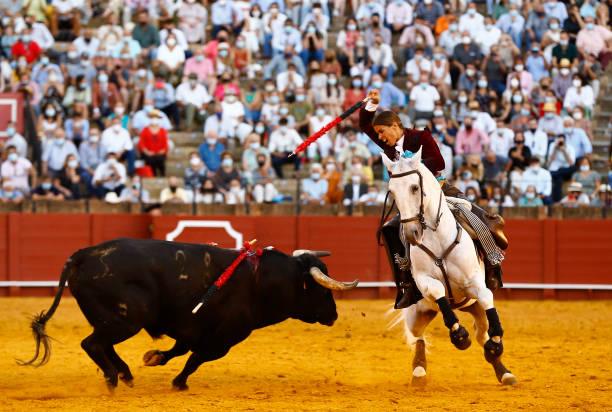 ESP: Seville's La Maestranza Bullring Opens At Full Capacity