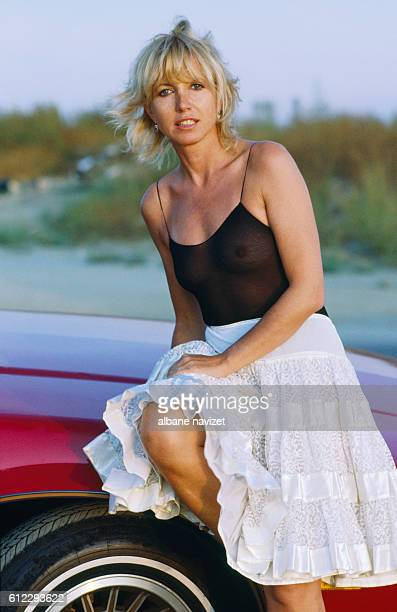 French movie and television actress Bulle Ogier.