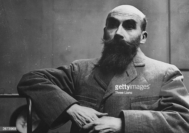 French murderer Henri Desire Landru who was executed for the murder of ten women and one boy
