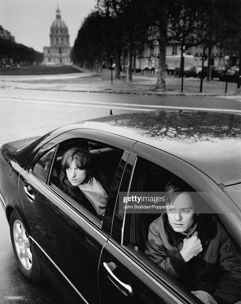 French music duo Air in Paris, circa 1997. They are Nicolas Godin and Jean-Benoît Dunckel.