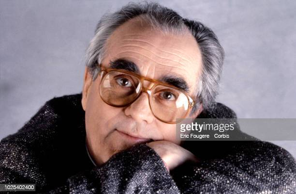 French musician composer singer and arranger Michel Legrand poses during a portrait session in Paris France on
