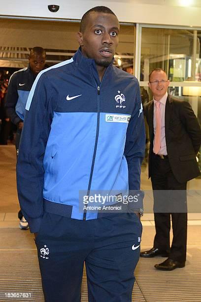 French national football team's midfielders Blaise Matuidi on October 8 2013 in Paris France