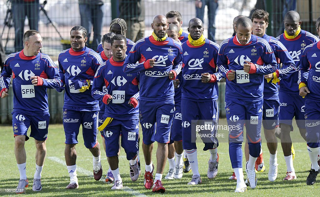 French national football team's players