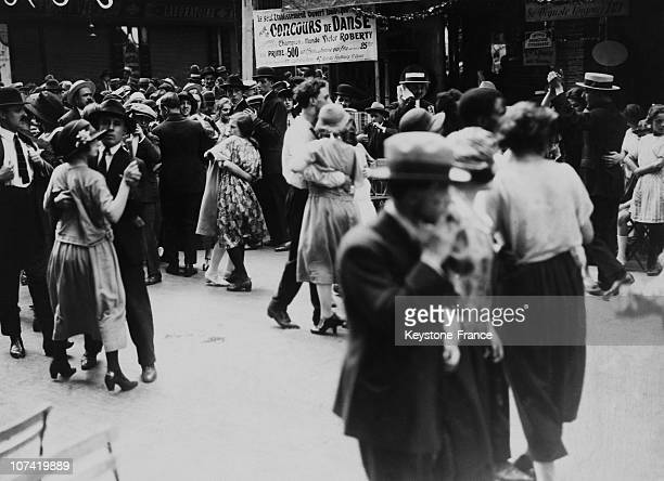 French National Holiday Dance Contest In Paris On July 14Th 1932