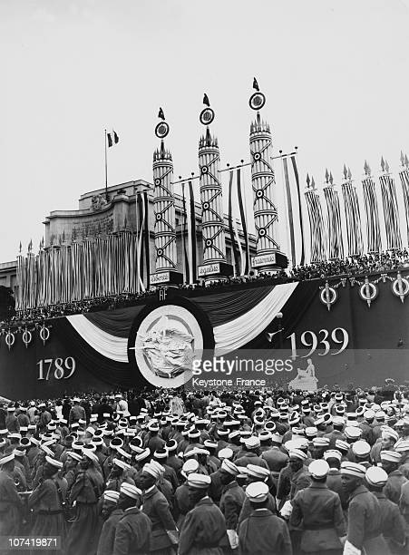 French National Holiday President Lebrun Speech In Paris On July 14Th 1939