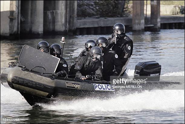 French National SWAT team RAID for the security of the world cup In France On January 20 1998 French national SWAT team unit on active duty on board...
