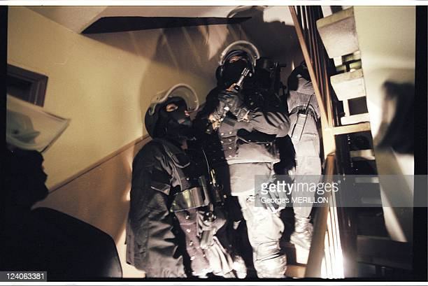 French National SWAT team RAID In France On January 20 1998