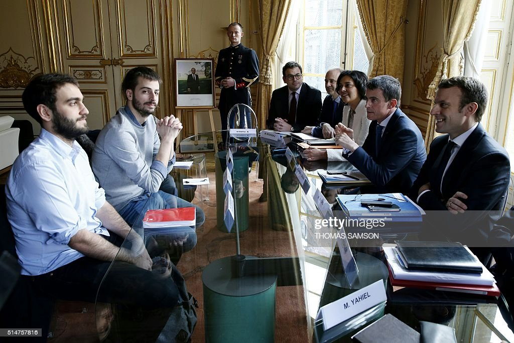 FRANCE-LABOUR-REFORMS-STUDENTS-UNIONS : News Photo