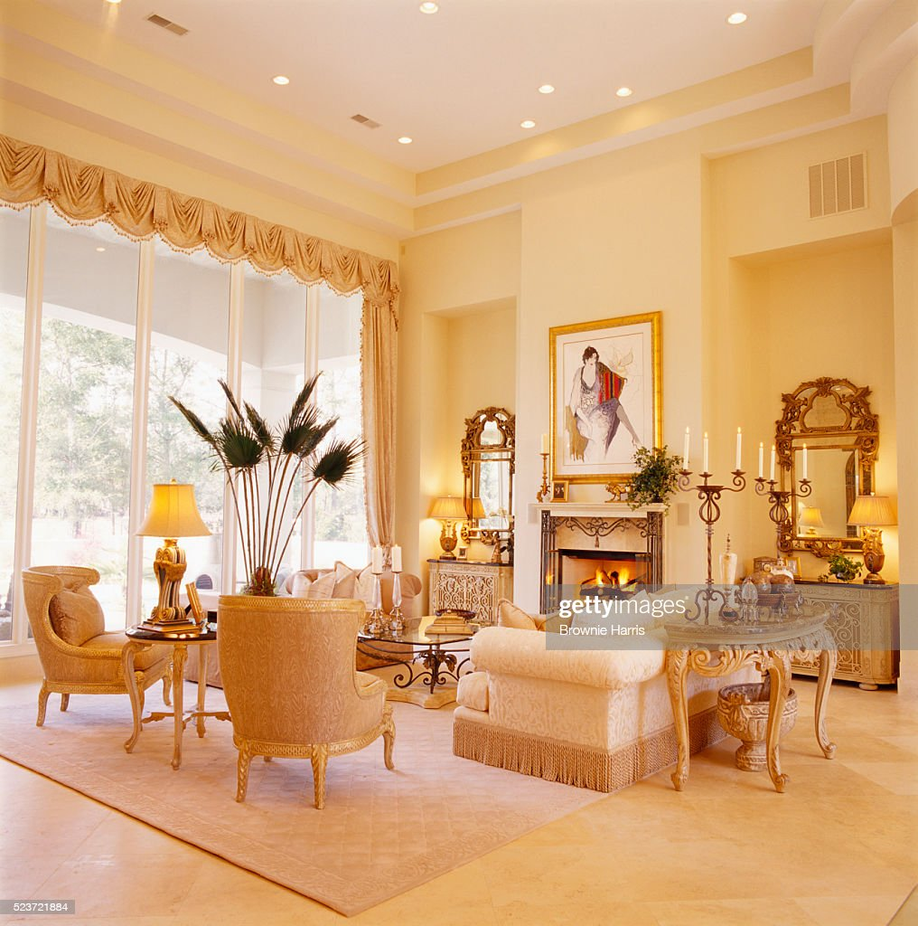 french formal living room. French Neoclassical Formal Living Room : Stock Photo S