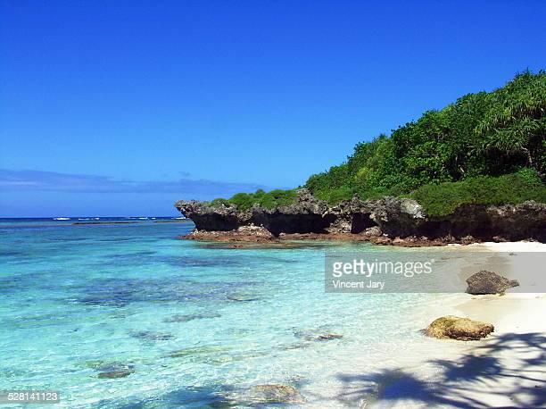 French new Caledonia coast
