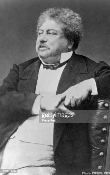 French novelist Alexandre Dumas Pere author of such classics as 'The Three Musketeers' and 'The Count of Monte Cristo' circa 1860