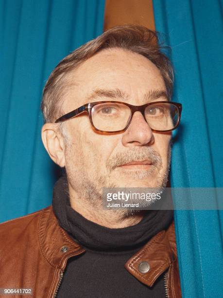 French Novelist Marc Dugain is photographes for Self Assignment in December 2017 in Paris France