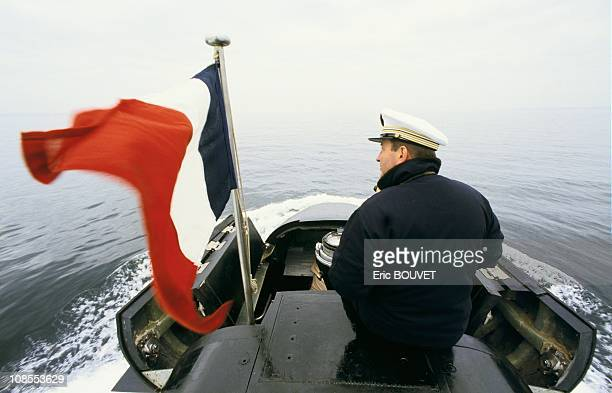 French nuclear submarines in France on June 02nd 1986