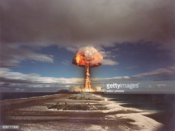 French nuclear weapons testing in Moruroa On September 6 1970