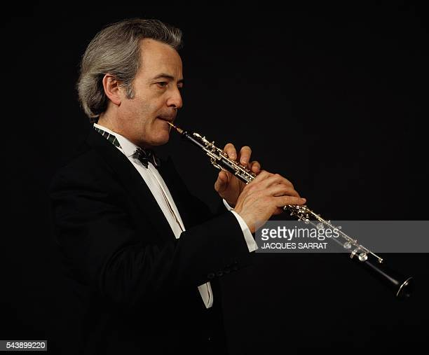 French oboist, chamber music player, composer, and conductor Maurice Bourgue.