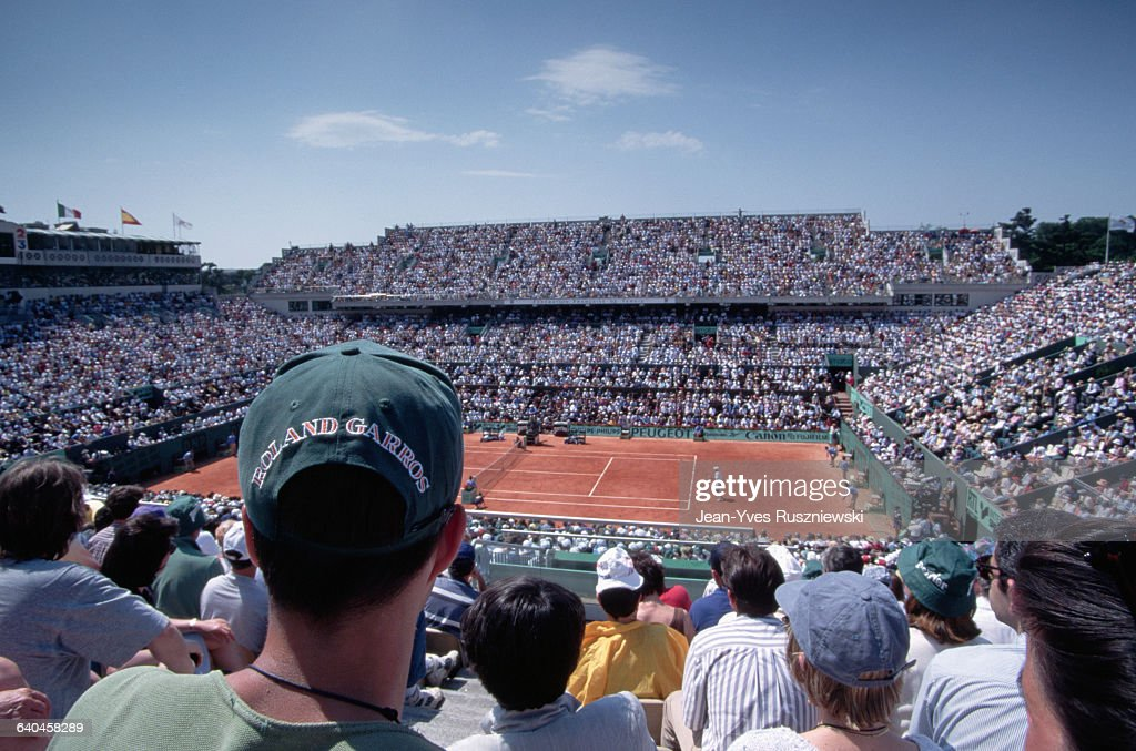 French Open Tennis Match : News Photo