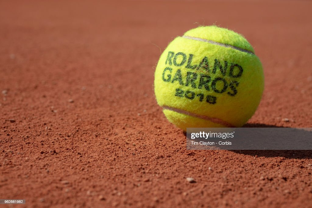 2018 French Open Tennis Tournament, Roland Garros, Paris, France. : ニュース写真