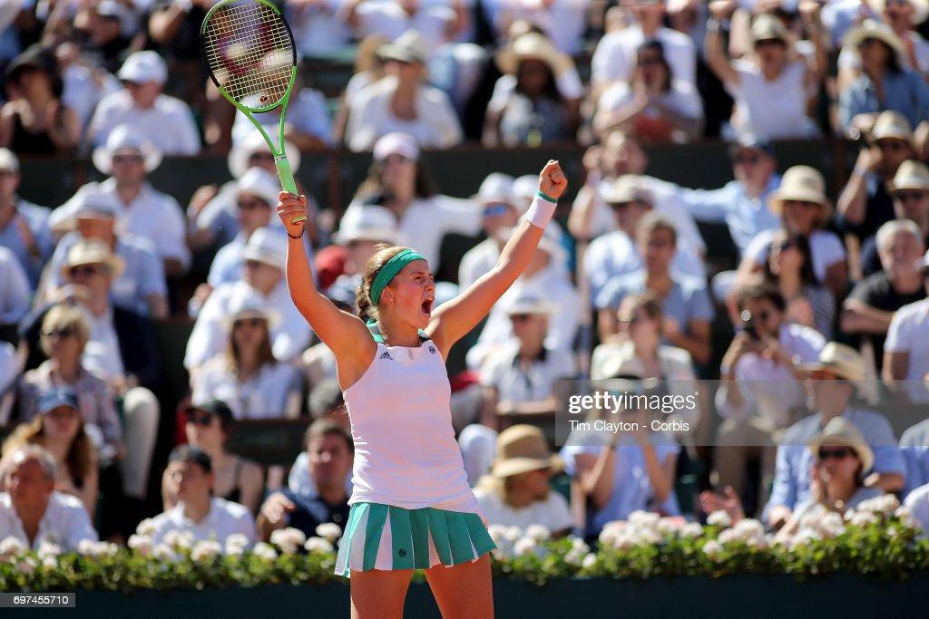 2017 French Open Tennis Tournament. Roland Garros. Paris. France. : Fotografía de noticias